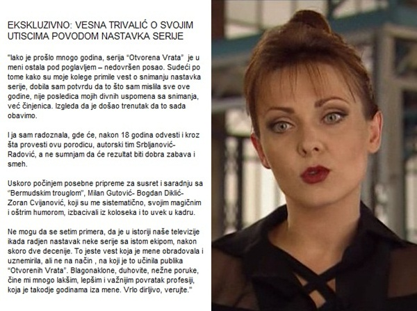 ov1 Bojana Maljević i Vesna Trivalić: Otvorena vrata osamnaest godina kasnije
