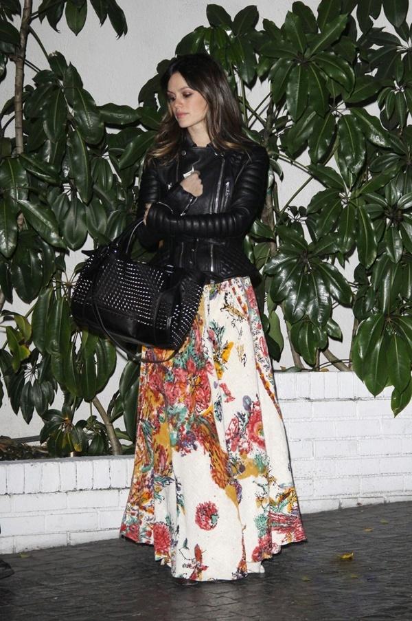 slika 1010 Street Style: Rachel Bilson