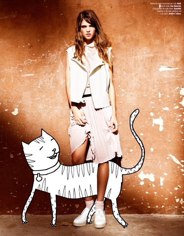 "slika 104 ""Elle Belgium"": Moda i grafiti"
