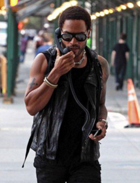 Street Style: Lenny Kravitz