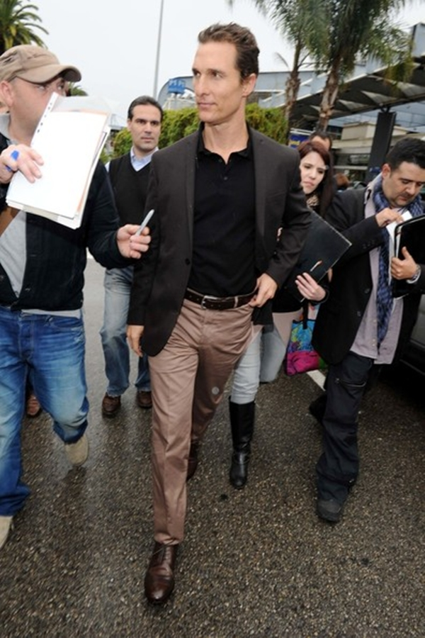 slika 65 10 odevnih kombinacija: Matthew McConaughey