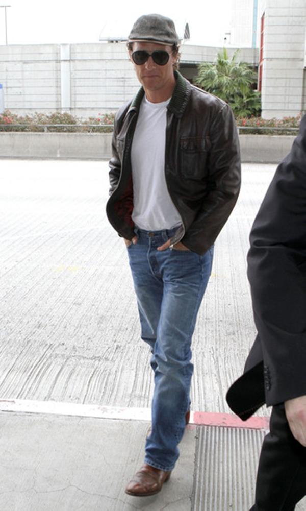 slika 74 10 odevnih kombinacija: Matthew McConaughey