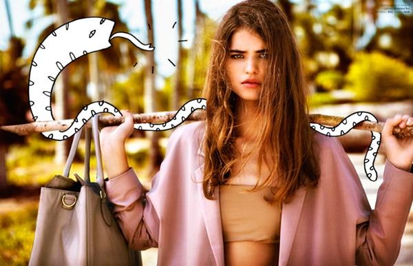 "slika 75 ""Elle Belgium"": Moda i grafiti"