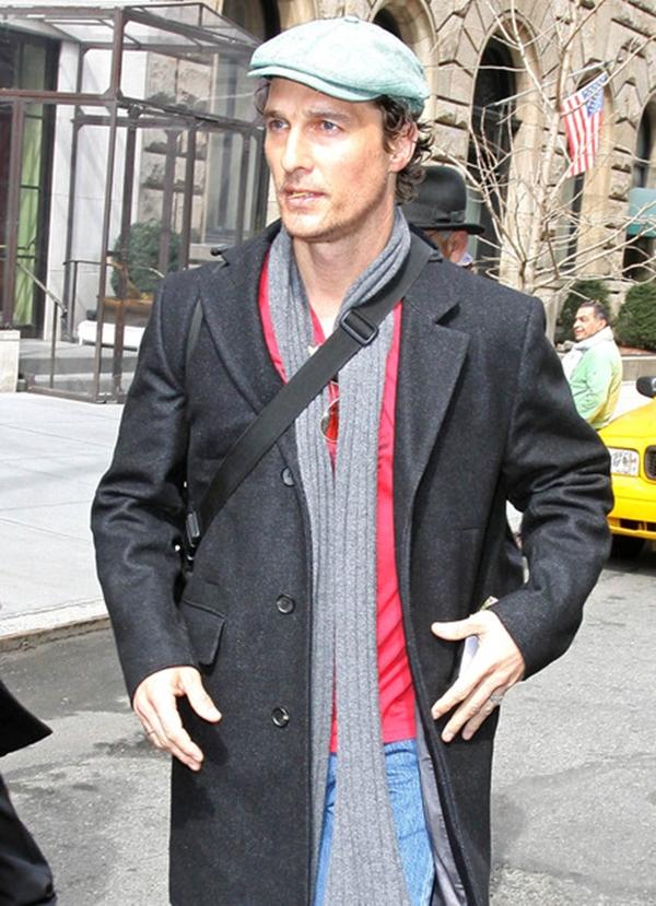 slika 94 10 odevnih kombinacija: Matthew McConaughey