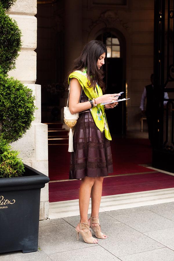 slika6 Street Style: Giovanna Battaglia