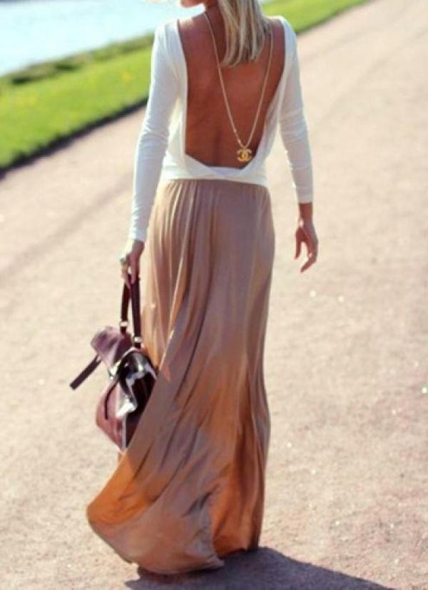 144 Čeprkanje po ormaru: Duga suknja