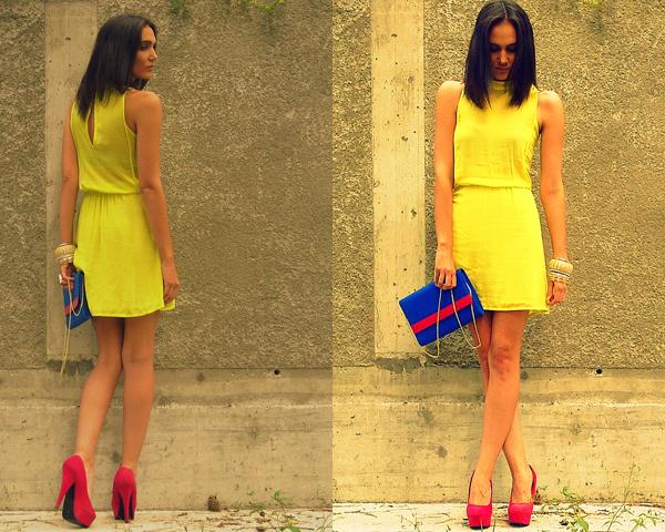 162 Modni predlog Kaje Strniše: Žuta i pink
