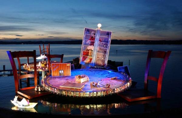 418 BregenzFest: Impozantne bine na vodi