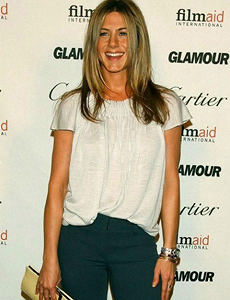 10 odevnih kombinacija: Jennifer Aniston