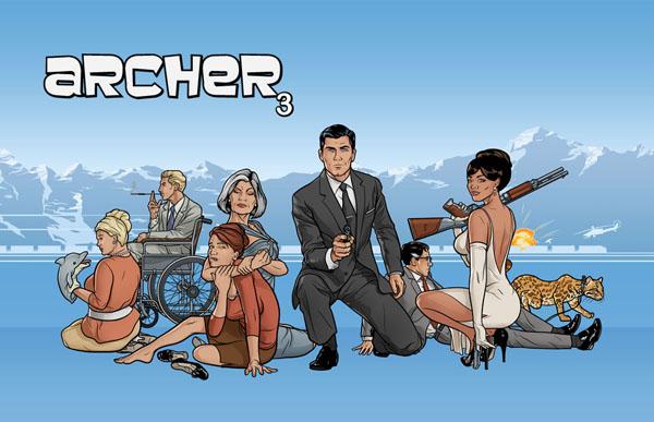 "Archer slika 1 Animirani petak: ""Arčer"""