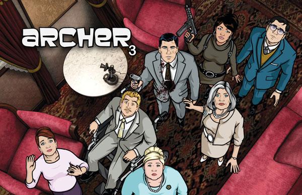"Archer slika 2 Animirani petak: ""Arčer"""