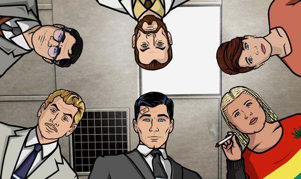 "Archer slika 3 Animirani petak: ""Arčer"""