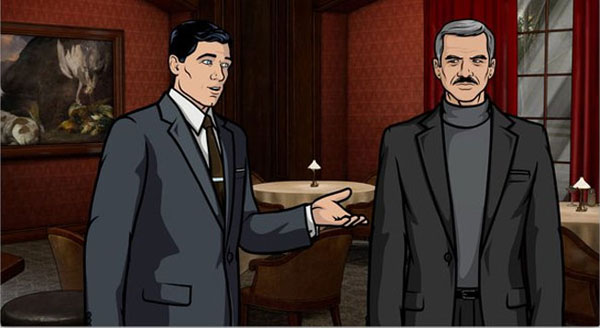 "Archer slika 4 Animirani petak: ""Arčer"""