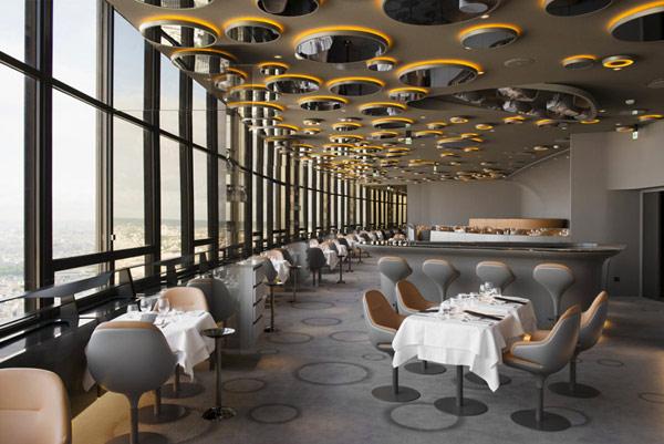 "Ciel de Paris restaurant 10 Luksuzni restoran: ""Ciel de Paris"""