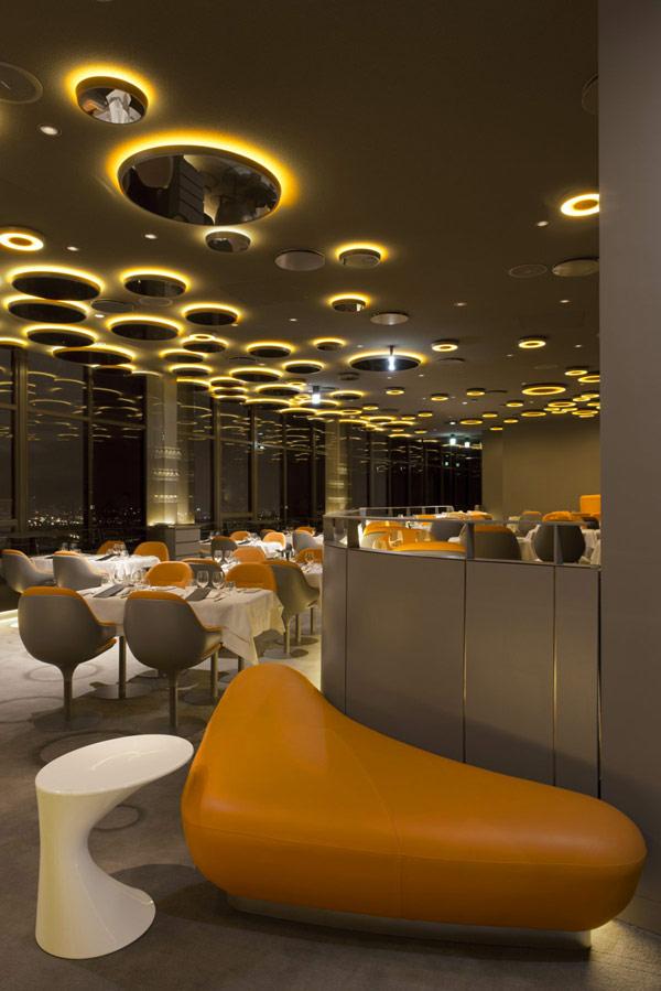 "Ciel de Paris restaurant 6 Luksuzni restoran: ""Ciel de Paris"""