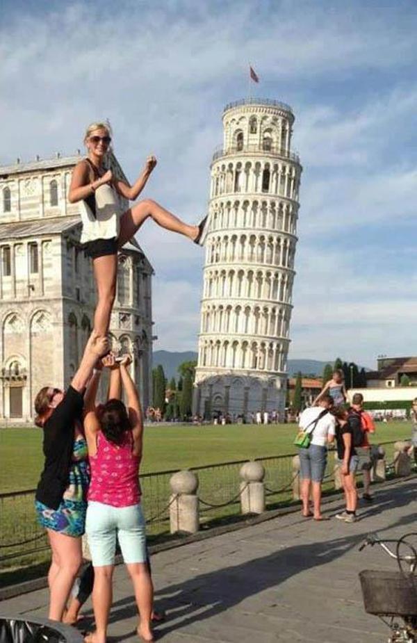Foto 1 Dnevna doza kreativnosti: Turisti u akciji za dobrom fotkom
