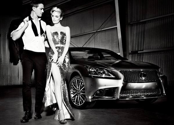 Lexus LS 460 F Sport 2013 1024x768 wallpaper 08 200km/h: Bondova devojka, luksuzni Lexus, štelovani Schnitzer i ljupka starica