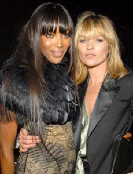 Modni zalogaj: Kate Moss i Naomi Campbell na zatvaranju Olimpijade