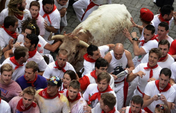 Pamplona 4 Pamplona: Kolektivna žurka!