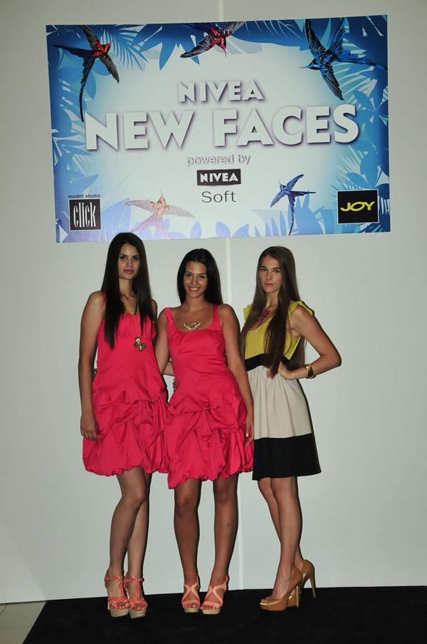 Picture pobednice jelena knezic.aleksandra doknic.marija cetkovic Nivea New Faces powered by Nivea Soft