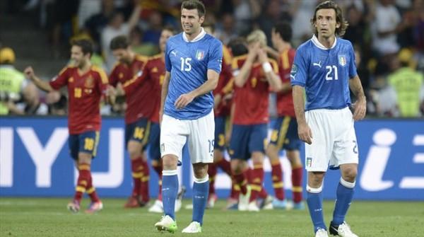 Pirlo Barzagli Španija furiozno do titule prvaka Evrope!