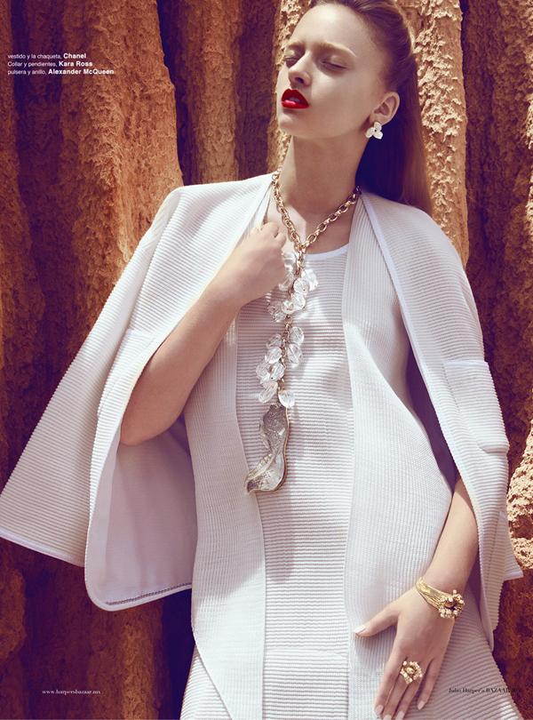 "Slika 1111 ""Harper's Bazaar Mexico"": Ples bele vile"