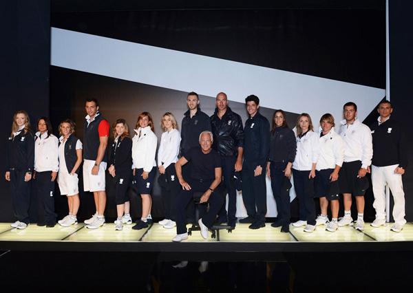 Slika 144 Emporio Armani EA7: Moda za Olimpijske igre