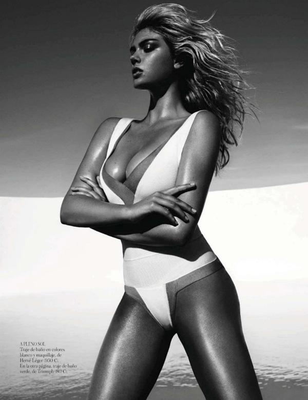 "Slika 148 ""Vogue Spain"": Jednodelni kupaći kostimi"