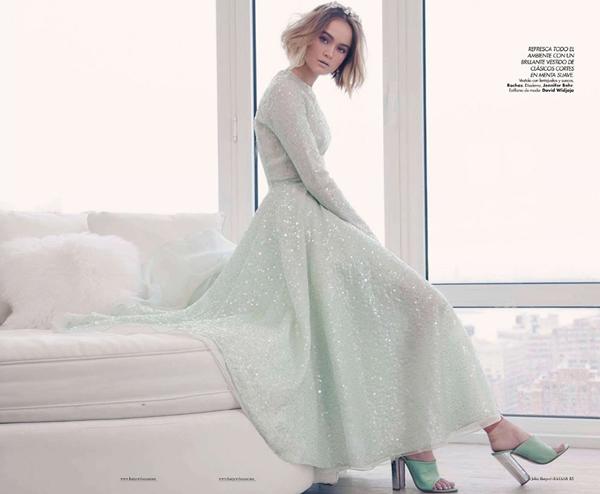 """Slika 192 """"Harper's Bazaar Mexico"""": Snaga pastelnih nijansi"""