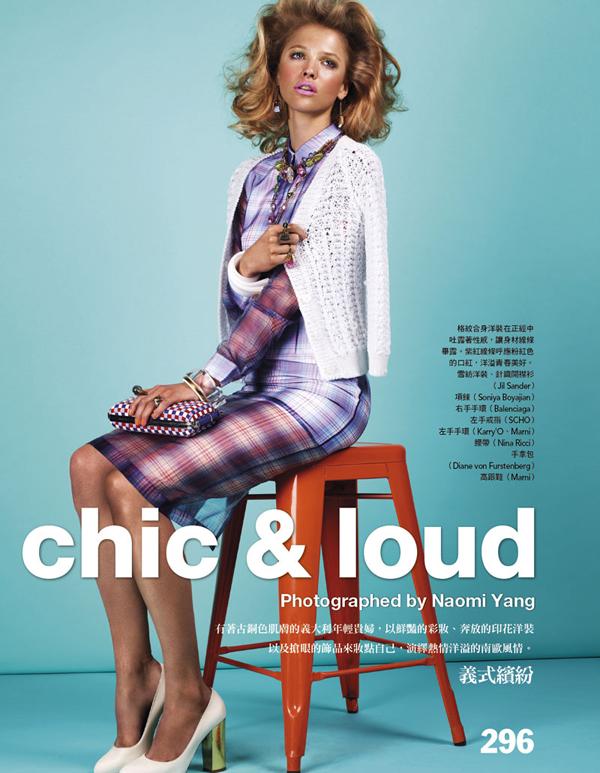 Slika 223 Vogue Taiwan: Retro na sav glas