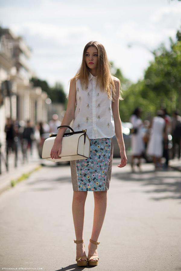 Slika 249 Street Style: Letnji trendovi na ulicama