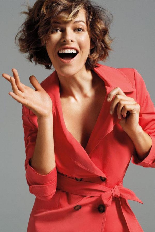 Slika 263 Marella: Milla Jovovich i ležerne kombinacije