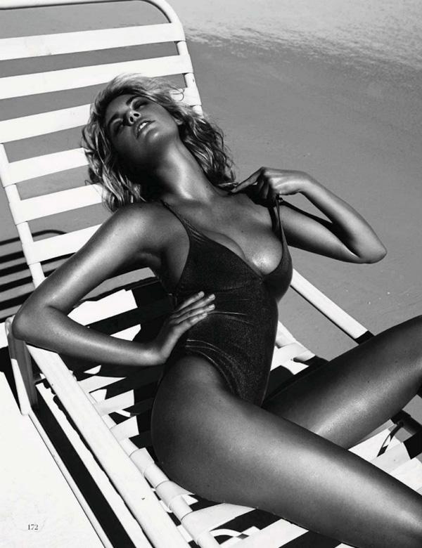 "Slika 417 ""Vogue Spain"": Jednodelni kupaći kostimi"
