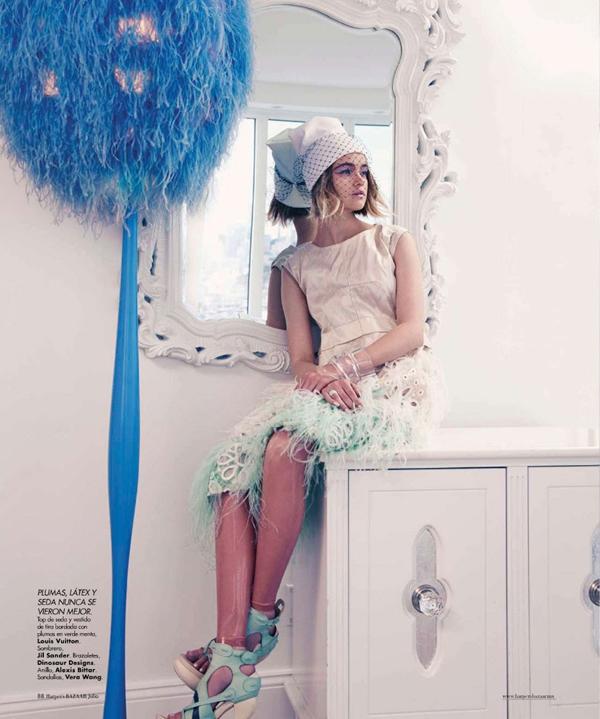 """Slika 447 """"Harper's Bazaar Mexico"""": Snaga pastelnih nijansi"""