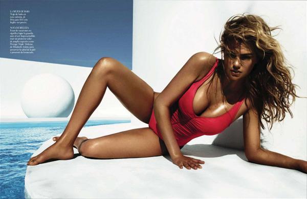 "Slika 514 ""Vogue Spain"": Jednodelni kupaći kostimi"
