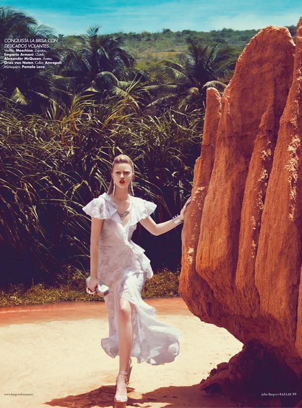 "Slika 519 ""Harper's Bazaar Mexico"": Ples bele vile"