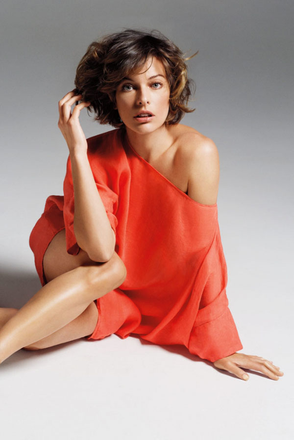 Slika 634 Marella: Milla Jovovich i ležerne kombinacije