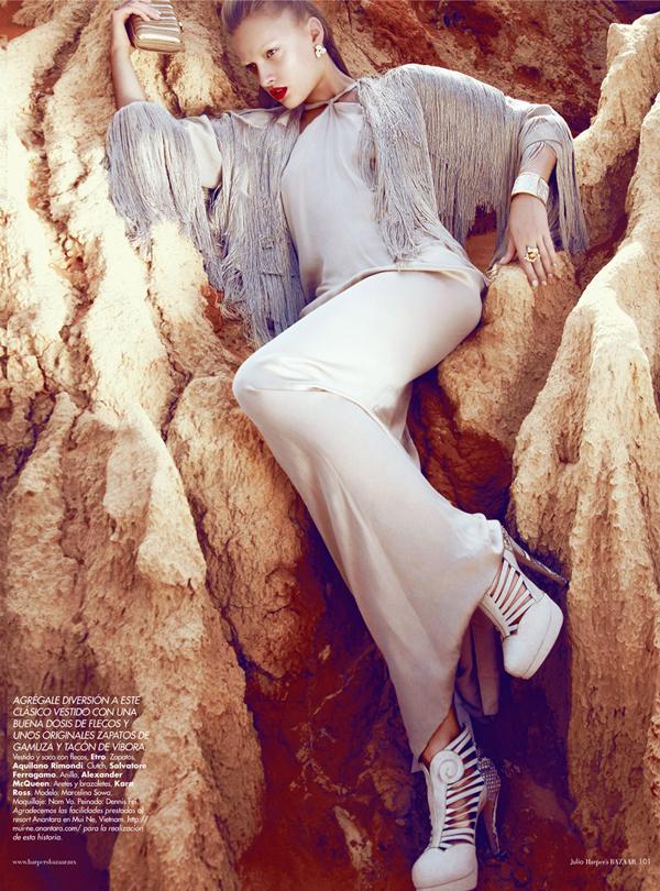 "Slika 714 ""Harper's Bazaar Mexico"": Ples bele vile"