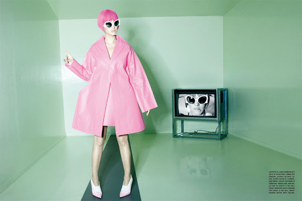 """Slika 73 """"Vogue Italia"""": Na putu za sutra"""