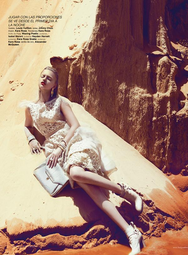 "Slika 810 ""Harper's Bazaar Mexico"": Ples bele vile"