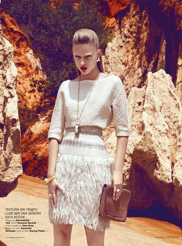 "Slika 94 ""Harper's Bazaar Mexico"": Ples bele vile"