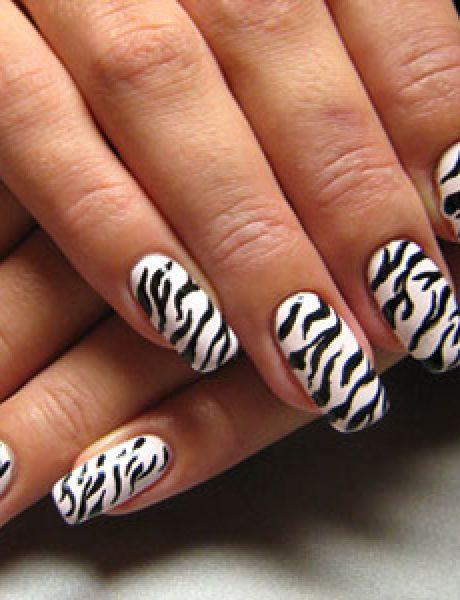 Uradi sama: Zebrine pruge na noktima
