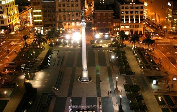 Slika135 Trk na trg: Union Square, San Francisko