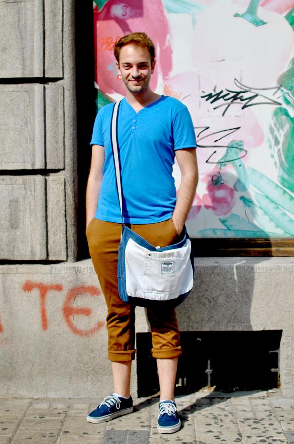 Slika46 Belgrade Style Catcher: Plavi jul