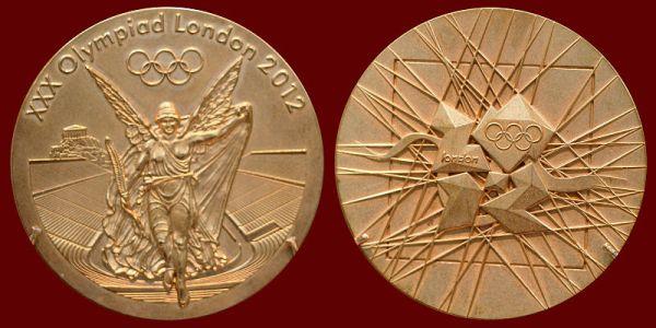 Zlatna medalja OI 2012 XXX Olimpijske igre: London 2012
