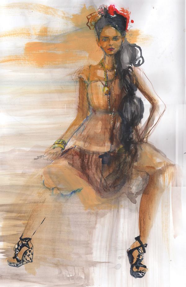 il1 Modna ilustracija: Nataša Manov