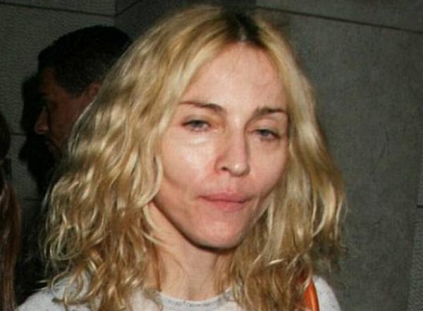madon Trach Up: Madonna na sudu