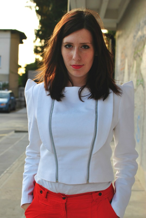me in jacket I made Wannabe intervju: Andreja Kranjec, slovenačka modna blogerka