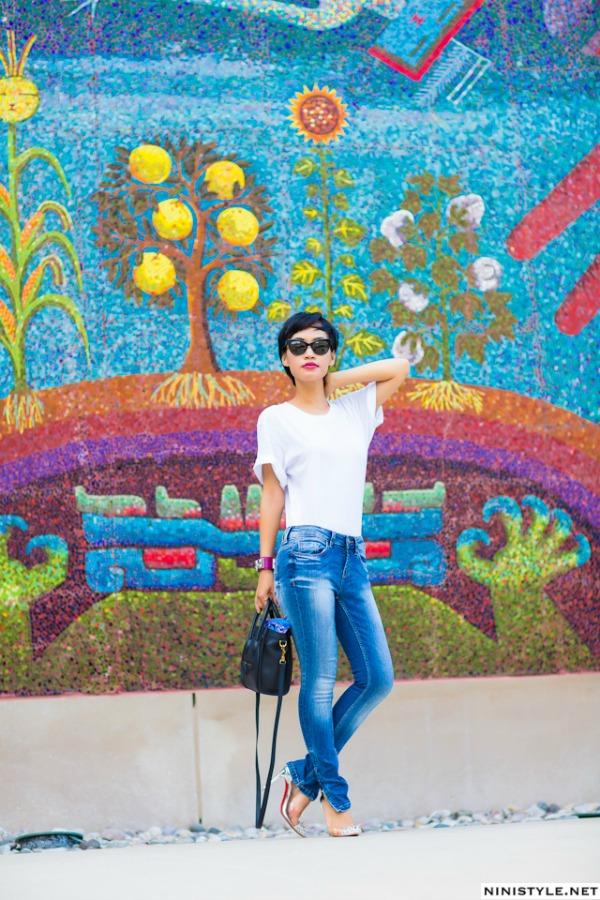 ninijean 2 Stil dana: Plavi džins