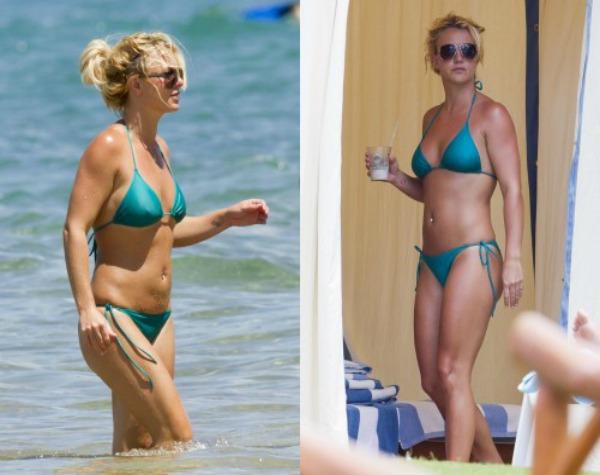 slika 188 Bikini stil: Britney Spears